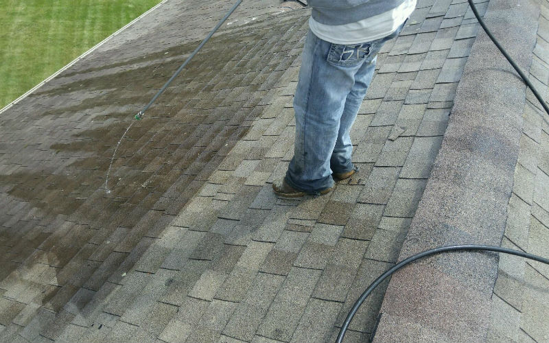 ROOF CLEANING TECHNIQUES