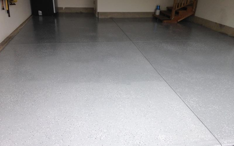 Garage and basement floor coatings service solutions for Garage floor cleaning companies