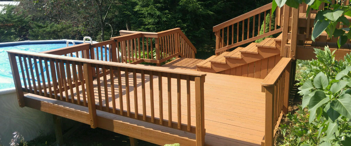 Service Solutions Deck Staining 1605e